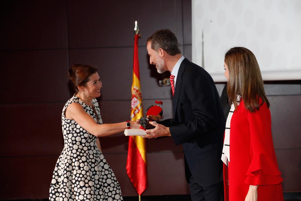 Embajadora Honoraria de la Marca España. SSMM Felipe VI y Doña Letizia Ortiz