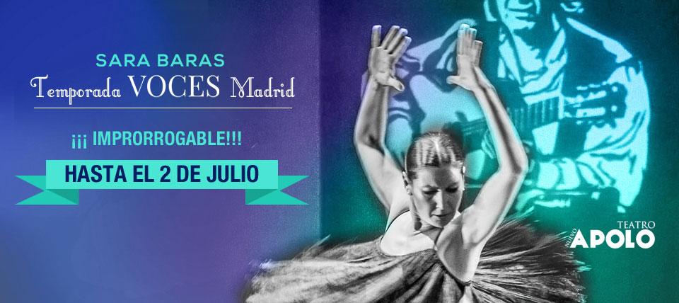 Hasta el 2 de julio Prorrogamos en Madrid con Voces