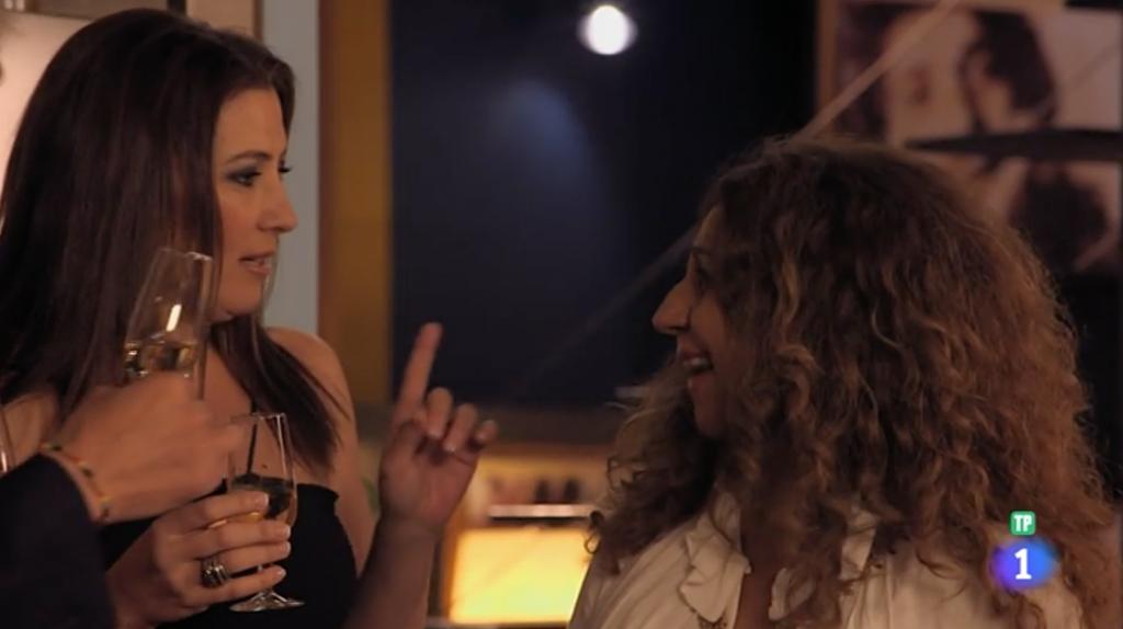 Sara baras y Lolita en TVE