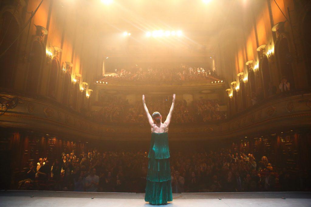 Sara Baras Estrenó Voces en Madrid
