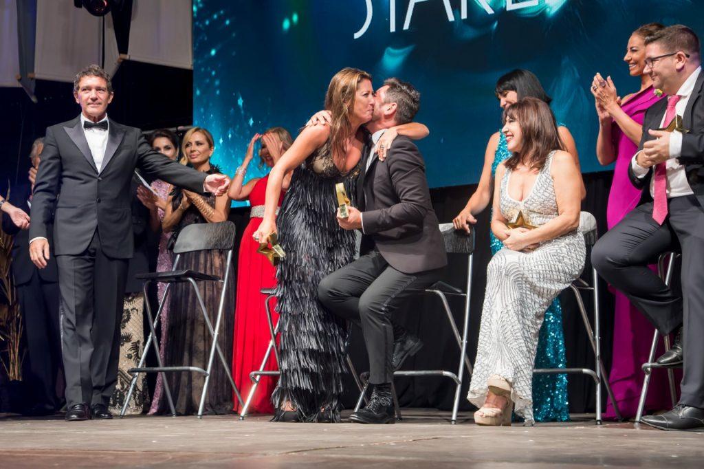 Sara Baras y premiados starlite gala