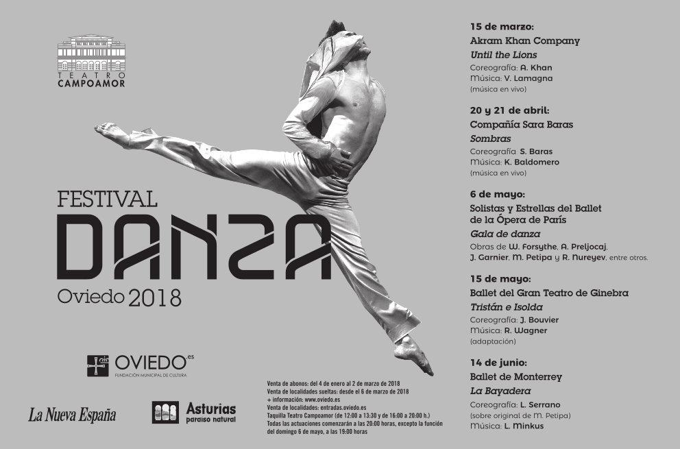 programación festival de danza oviedo