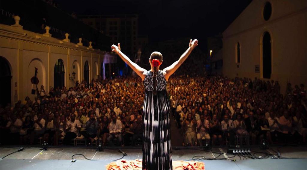 Sara Baras en Tío Pepe Festival