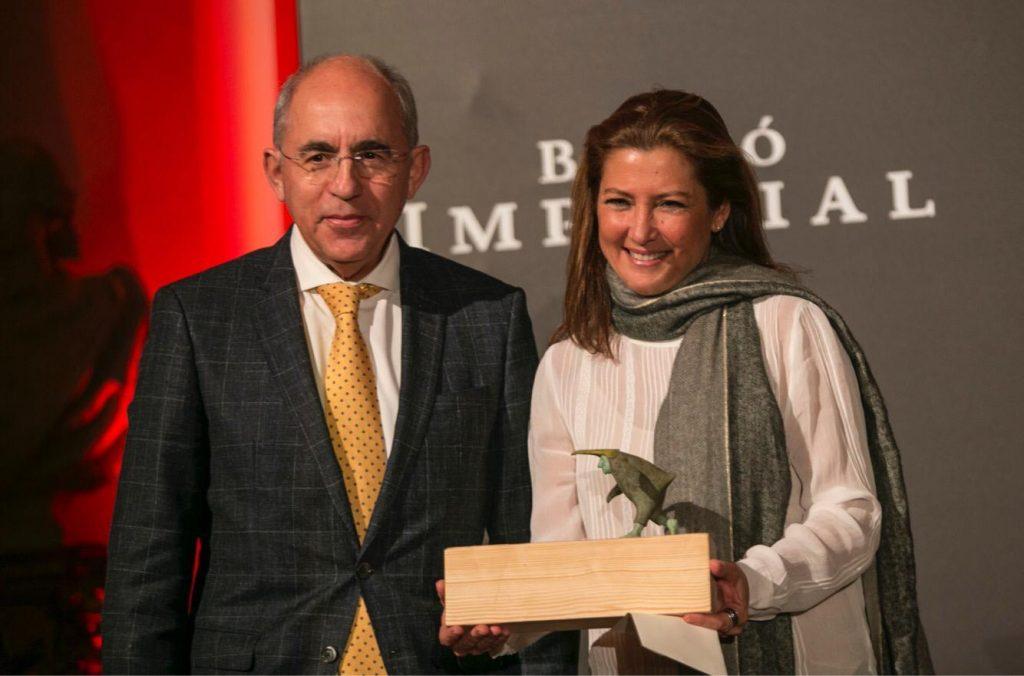 Director del Diario El Mundo y Sara Baras