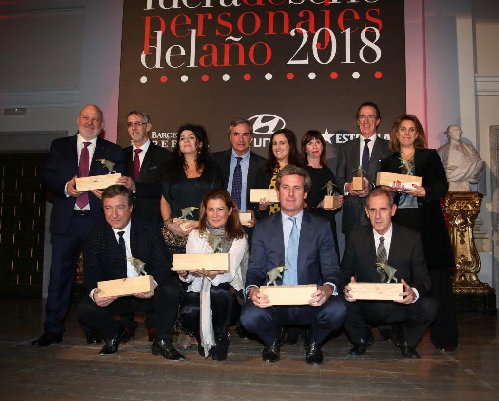 Grupo Premiados Personajes del Año 2018