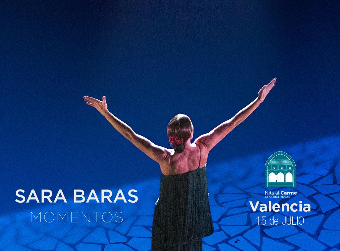 SARA BARAS MOMENTOS VALENCIA Espectaculo flamenco